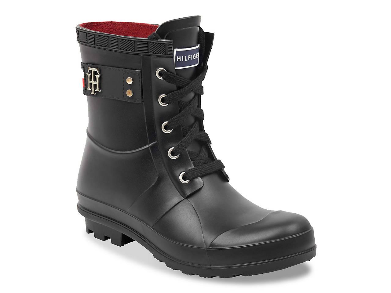 4022c9ae567c43 Tommy Hilfiger Toniee Rain Boot Women s Shoes
