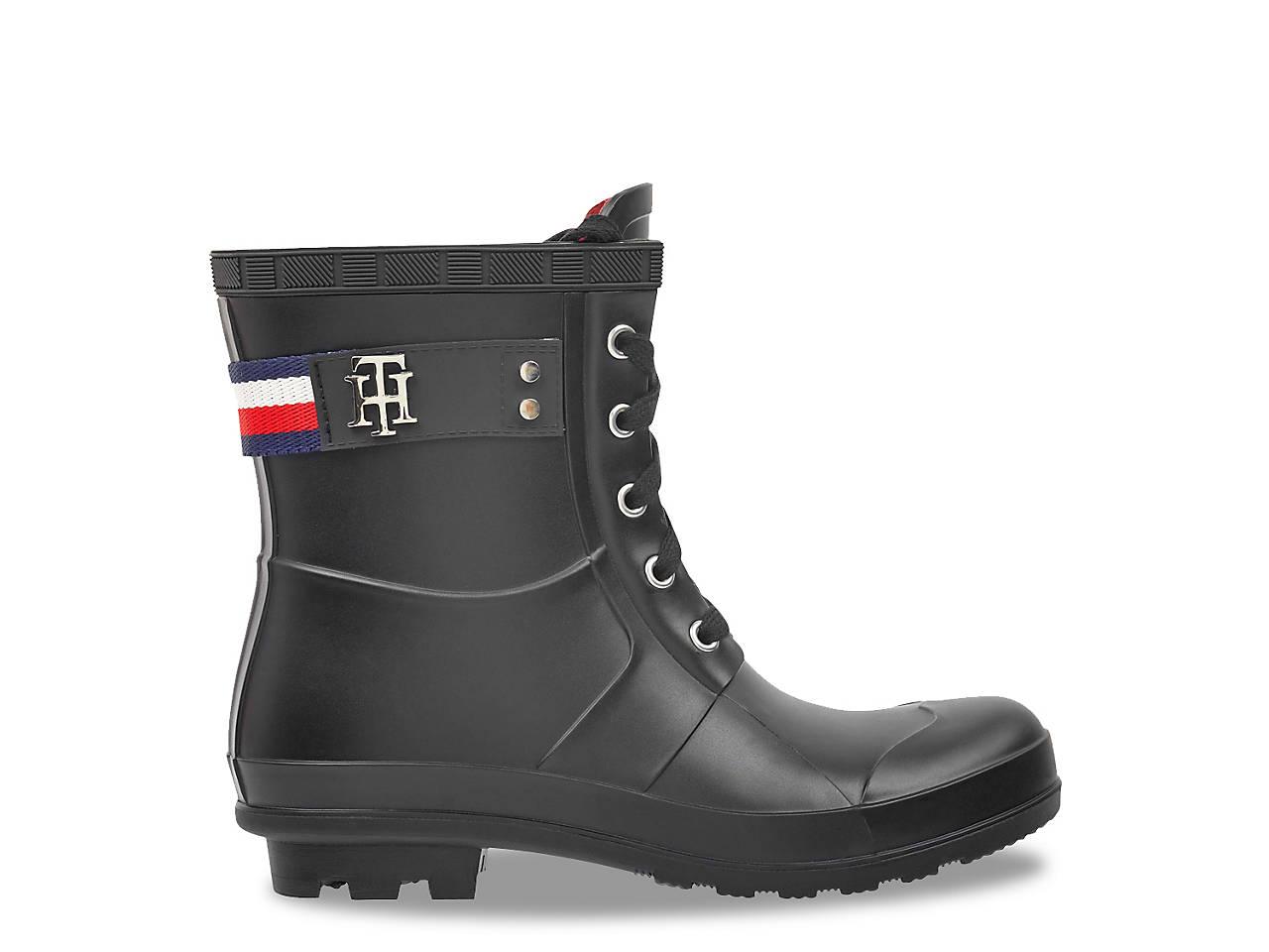 d3b95a0d2f0d8 Tommy Hilfiger Toniee Rain Boot Women s Shoes