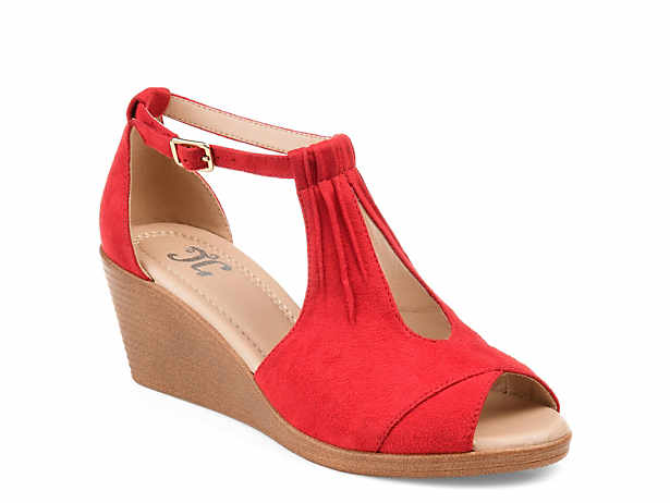 3d1ad2ed7a0c8f Women s Red Wedge Shoes