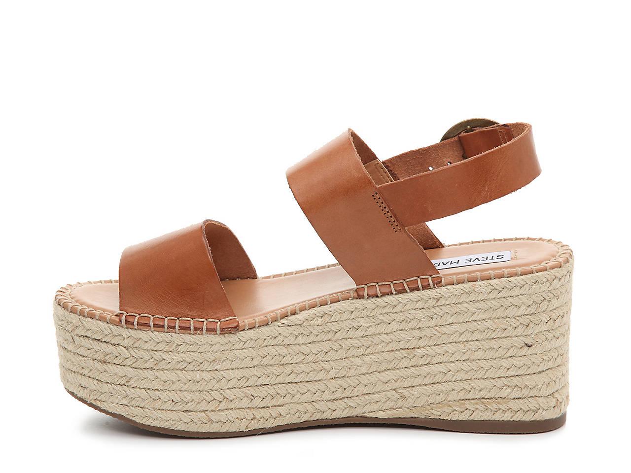 ab8acdea912 Steve Madden Cali Espadrille Wedge Sandal Men s Shoes