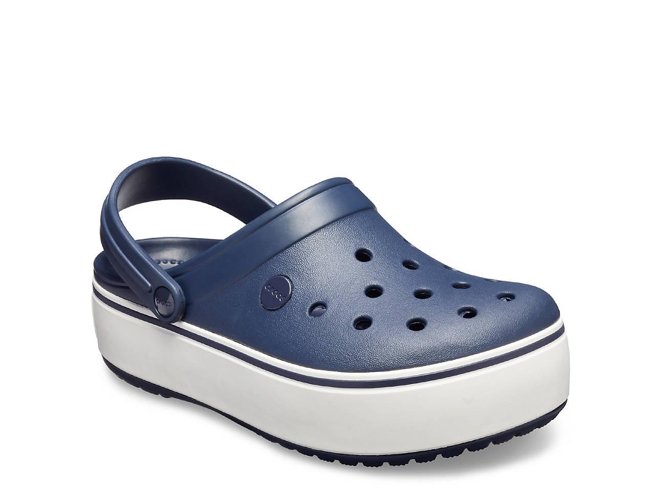 2d5129a87ad Crocs Crocband Platform Clog Women s Shoes