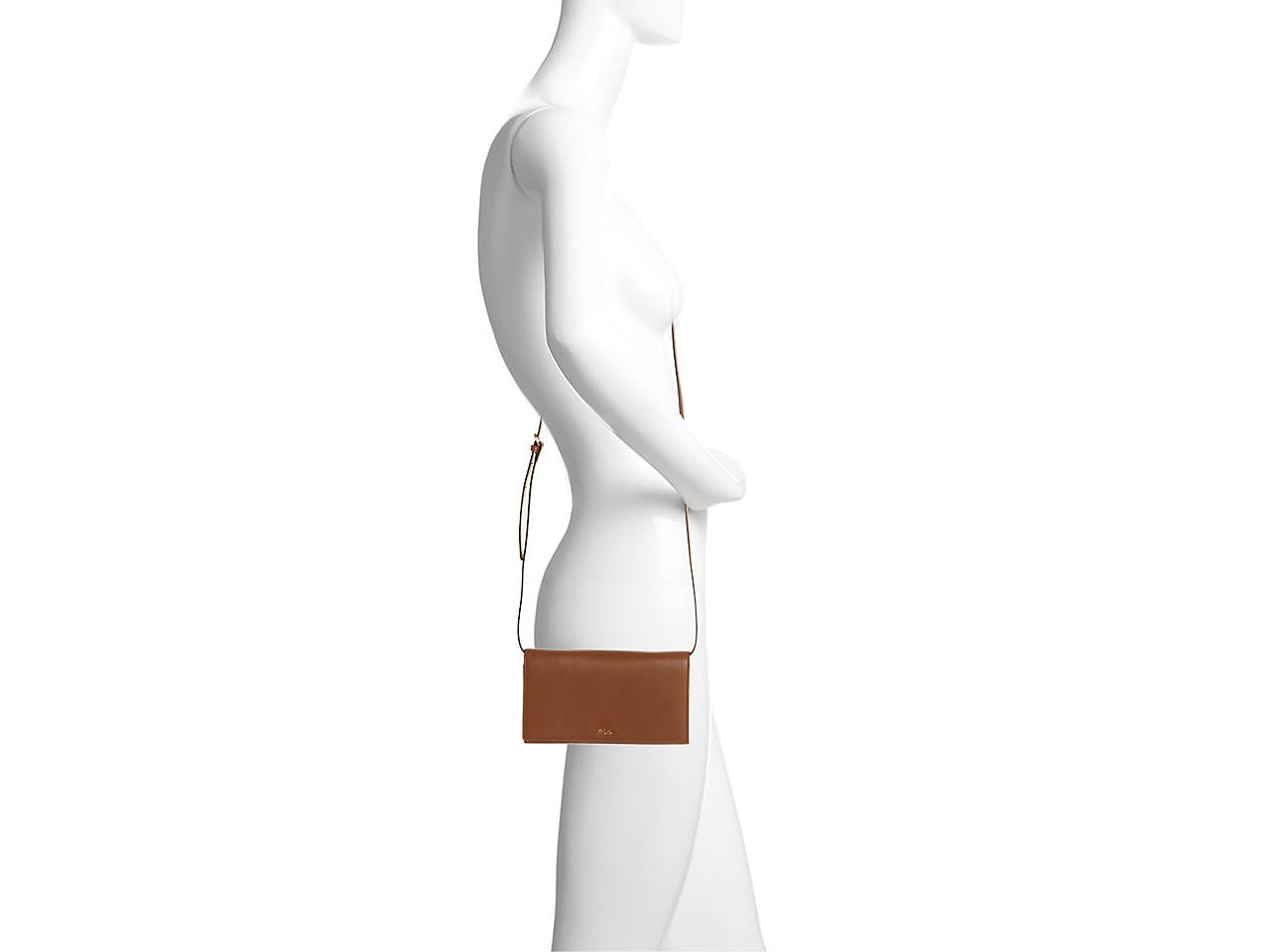 301b00e1cf Lauren Ralph Lauren Dowell Leather Crossbody Bag Women s Handbags ...