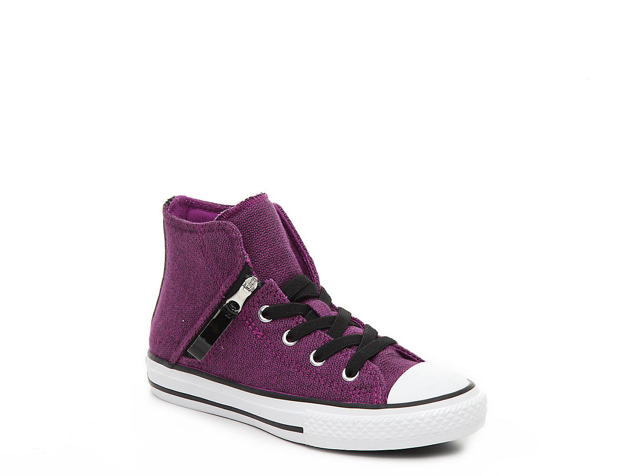 Converse. Chuck Taylor All Star Pull-Zip Hi Toddler   Youth High-Top Sneaker 11a6327d5