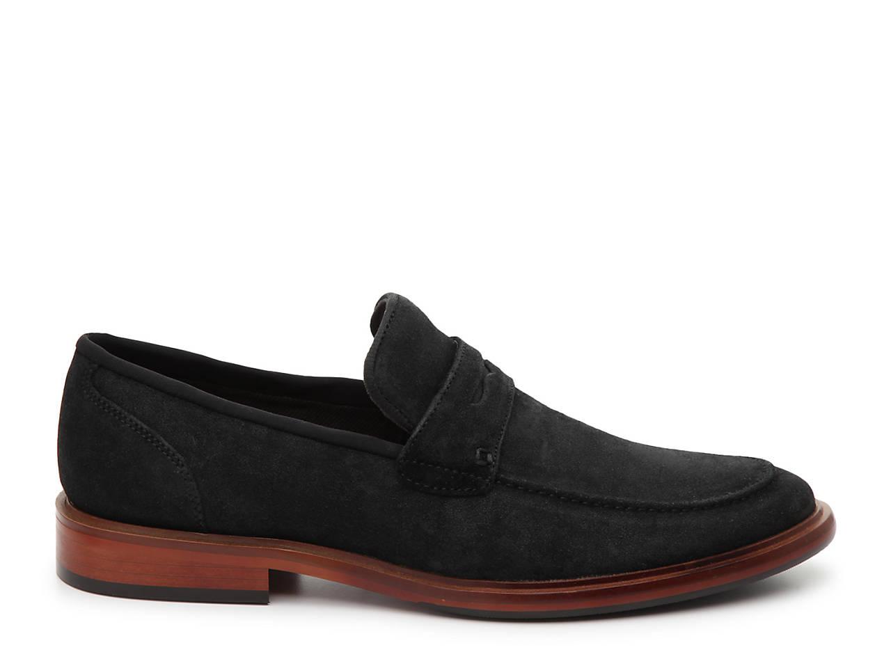 b703988b4fe Aston Grey Welt Penny Loafer Men s Shoes