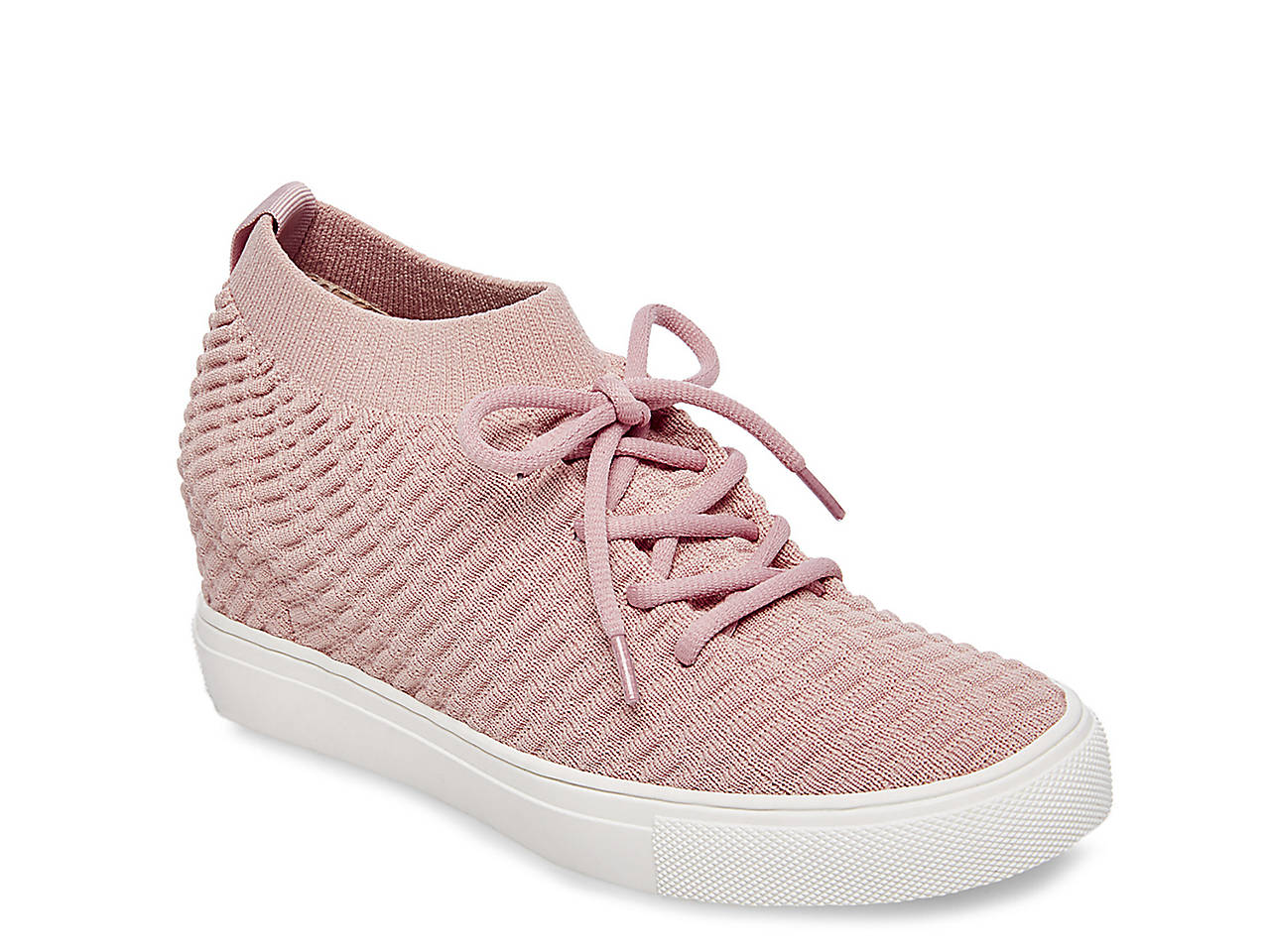 54e6d8f81eb Steven by Steve Madden Carin Wedge Sneaker Women s Shoes