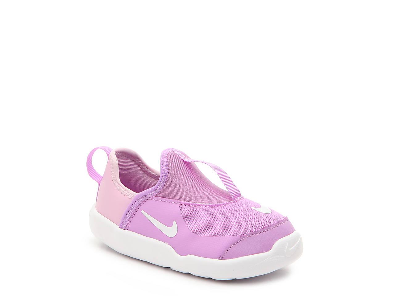 6c91479f07 Nike Lil Swoosh Infant   Toddler Slip-On Sneaker Kids Shoes