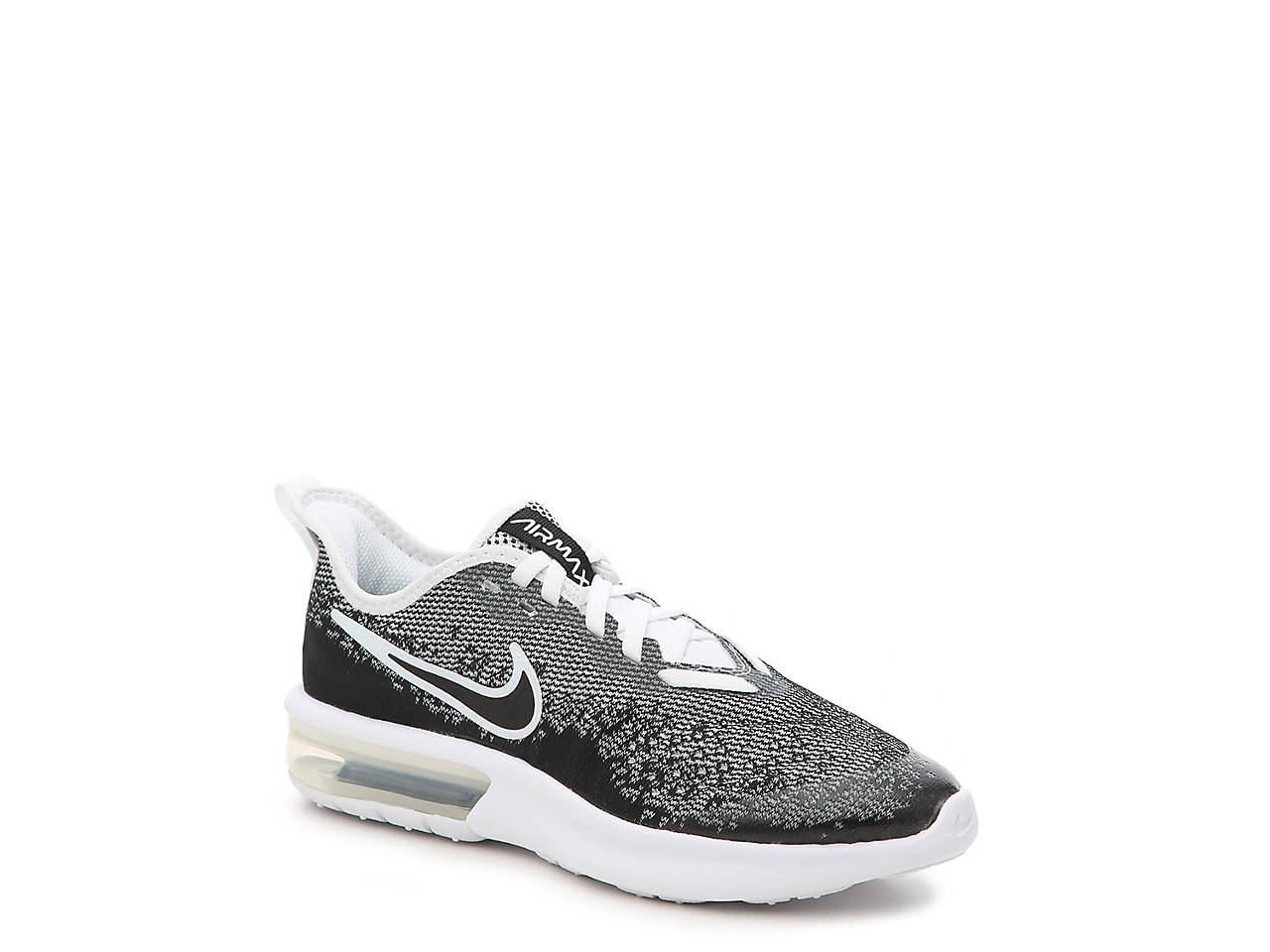 pretty nice 1143b b4b19 Nike. Air Max Sequent 4 Youth Running Shoe