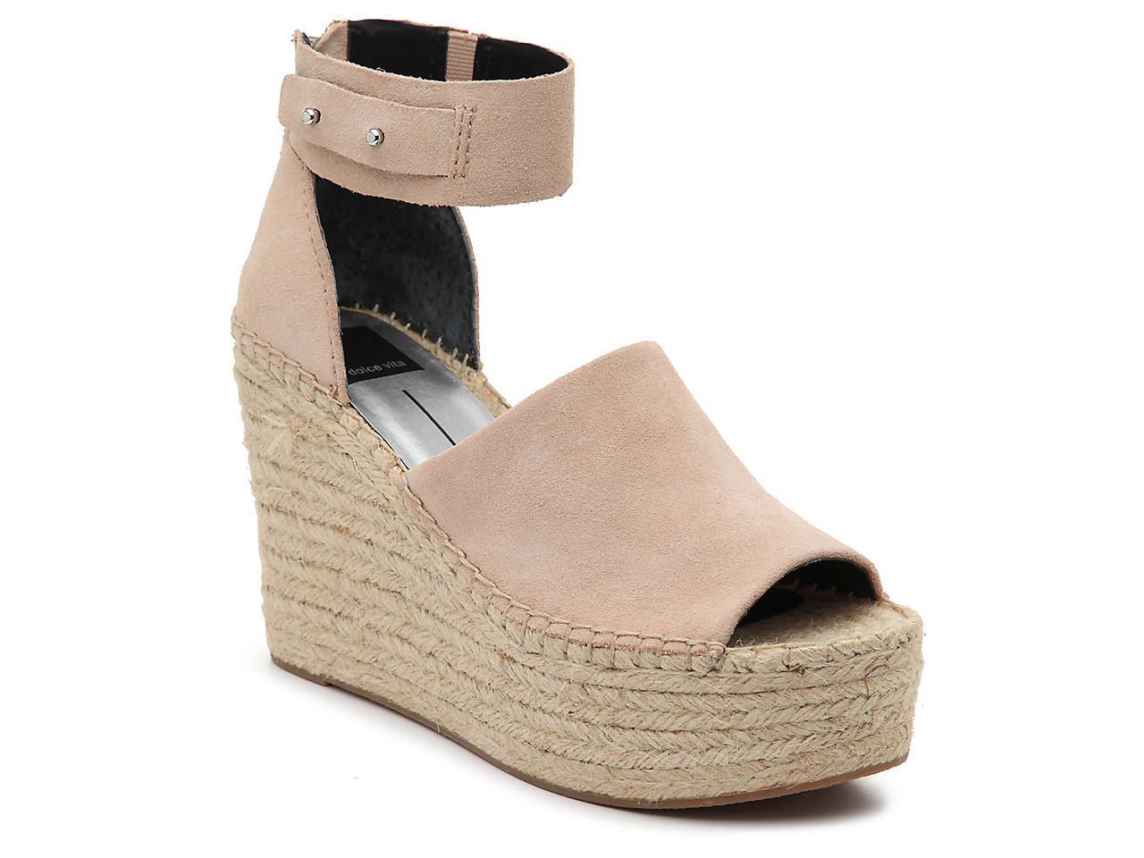 d559ed359d8 Dolce Vita Straw Espadrille Wedge Sandal Women s Shoes