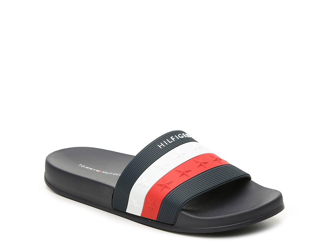 Tommy Hilfiger Dulce Slide Sandal Women S Women S Shoes