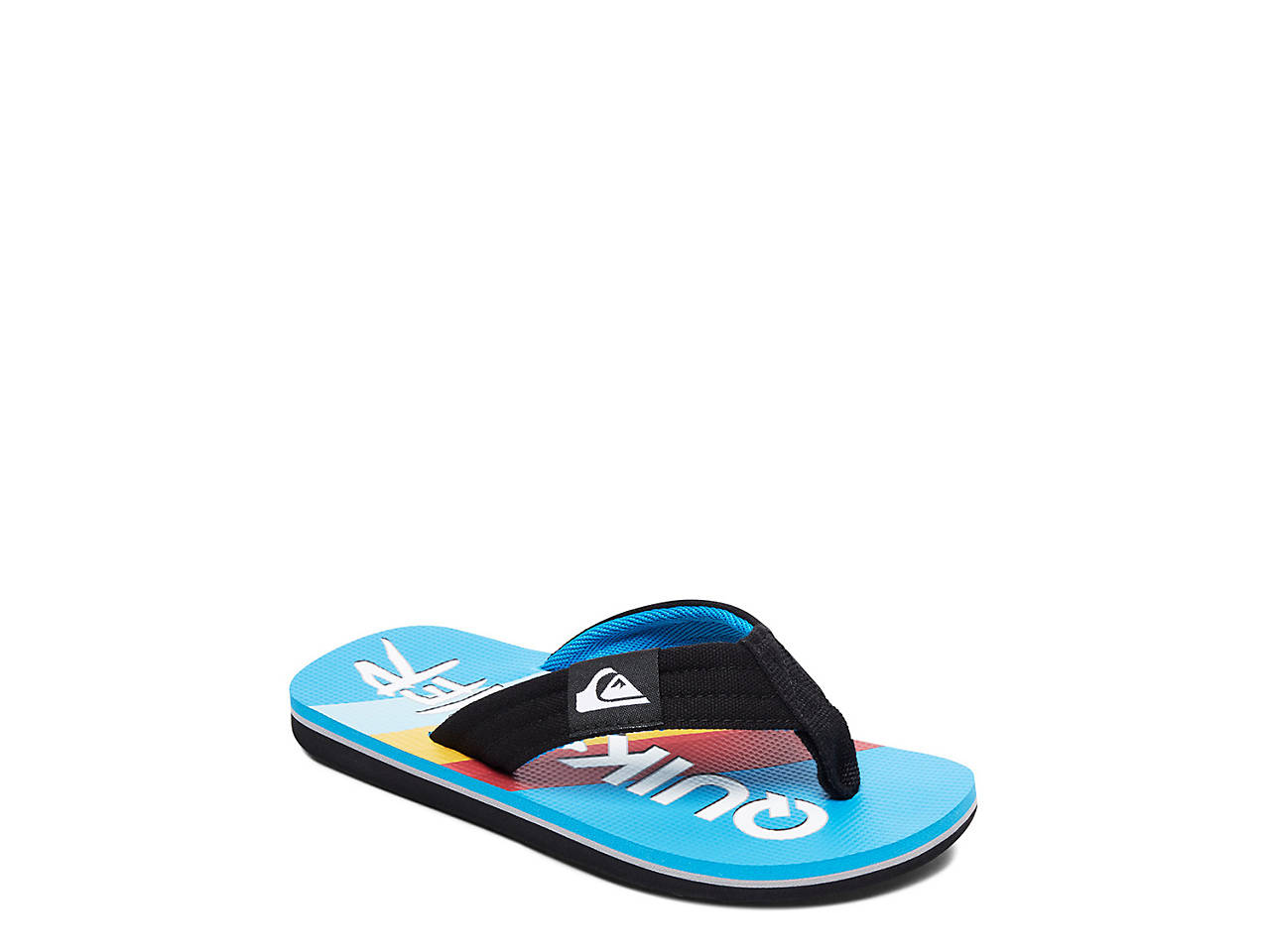 2d2651259850 Quiksilver Molokai Layback Toddler   Youth Flip Flop Kids Shoes