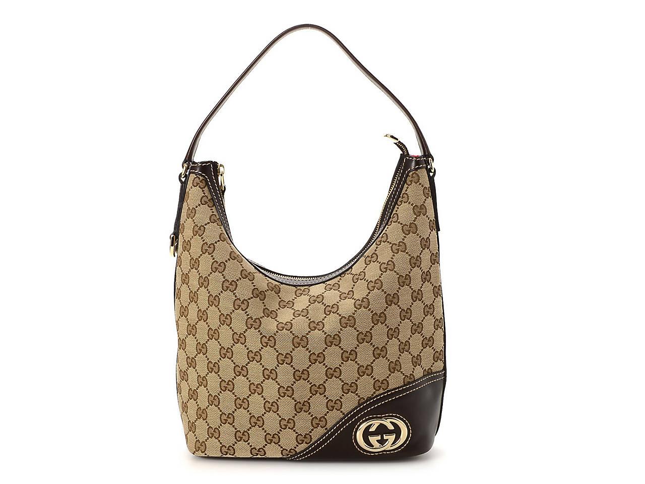 c3c39731869 Gucci - Vintage Luxury GG Canvas New Britt Shoulder Bag Women s ...