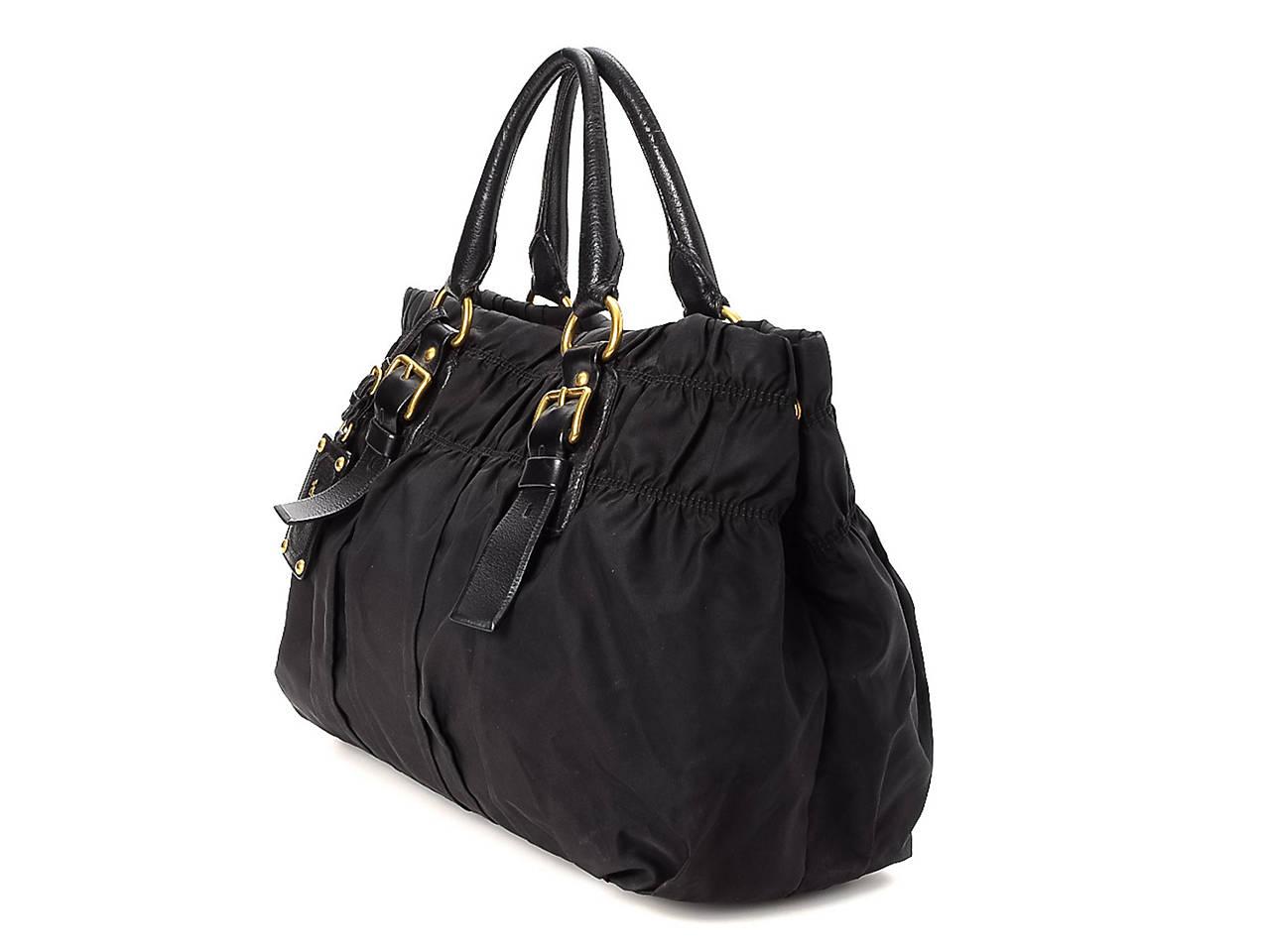 f5270a4218bc Prada - Vintage Luxury Tessuto Gaufre Shoulder Bag Women s Handbags ...