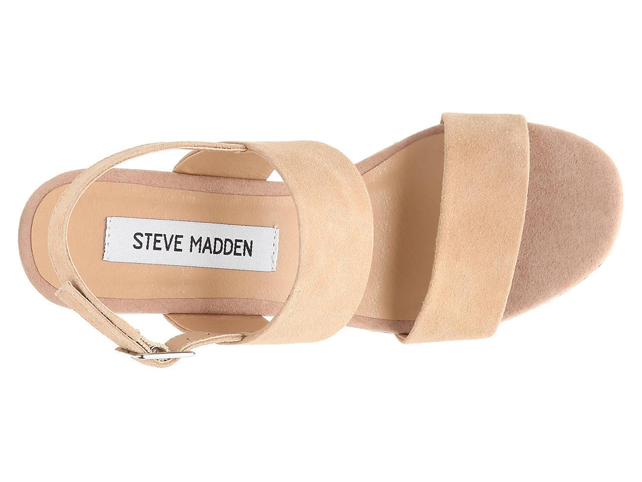 e6c4d1199a Steve Madden Hoda Wedge Sandal Women's Shoes   DSW