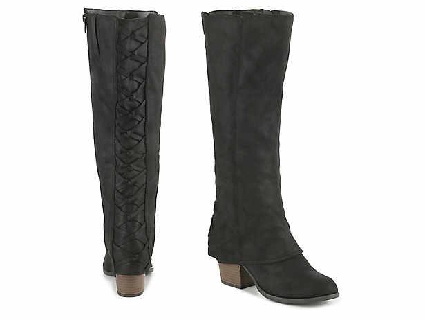 6aa99193fee Women s Black Fergalicious Knee High Boots
