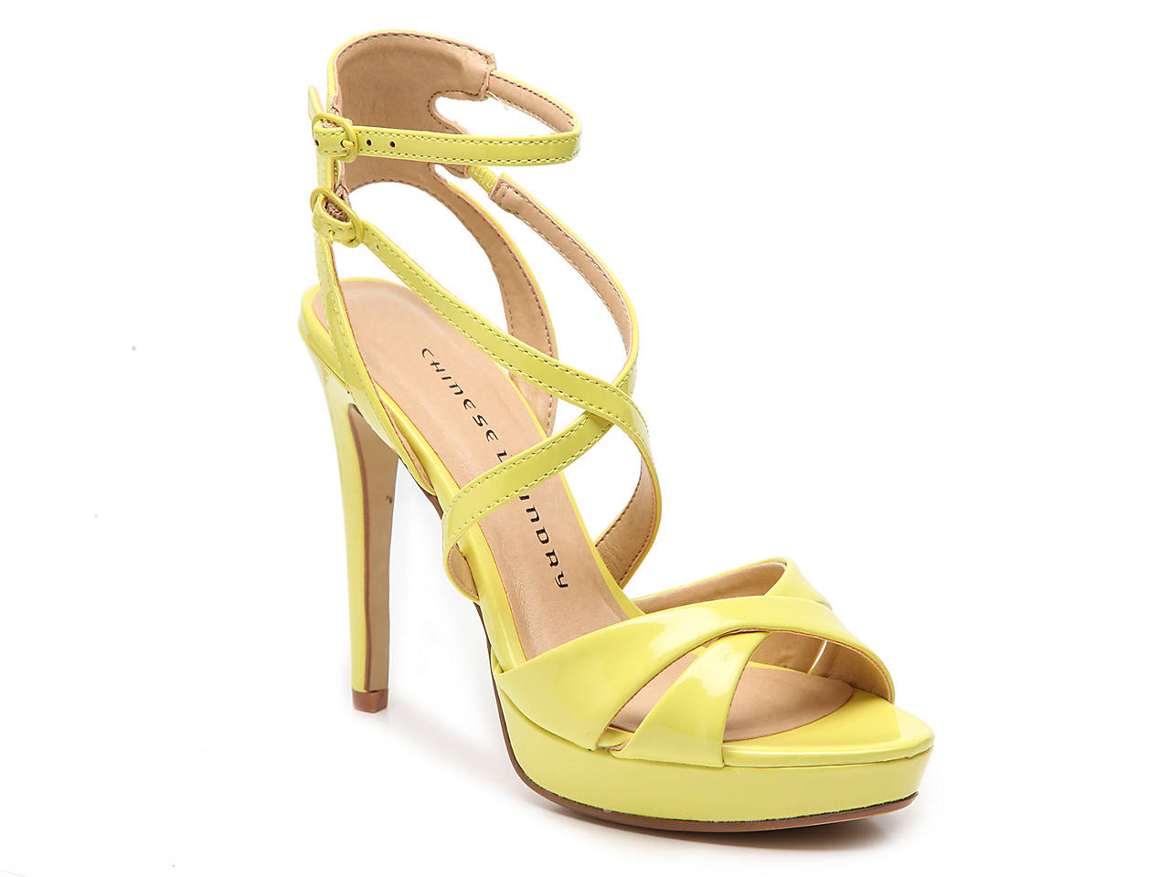 0134fe87e3 Chinese Laundry Highlight Platform Sandal Women's Shoes   DSW