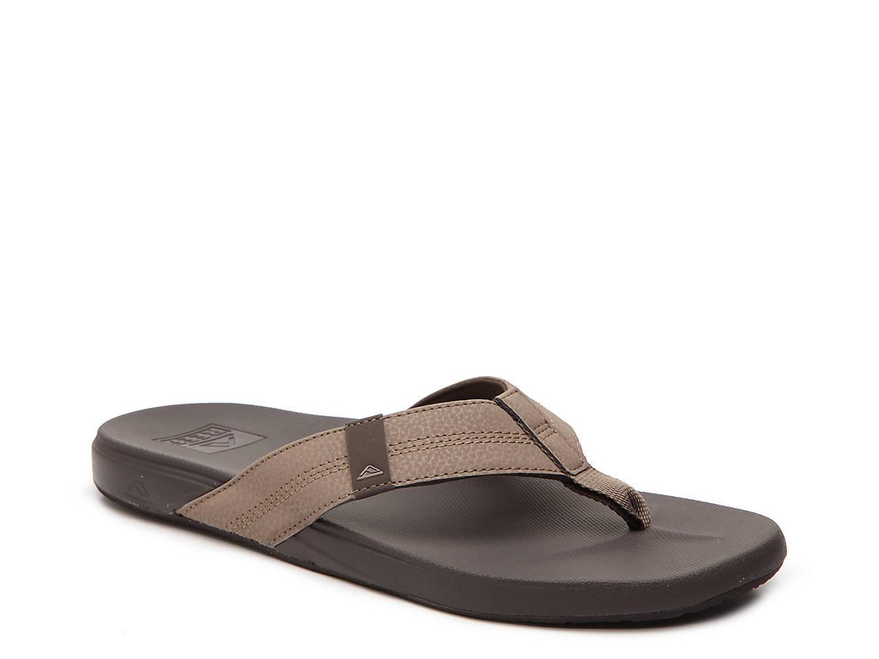 472e4037 Reef Cushion Bounce Phantom Flip Flop Men's Shoes | DSW