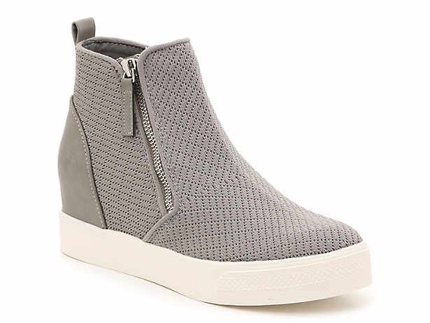 0d5b460e4ee Steve Madden. Loxley Wedge High-Top Sneaker