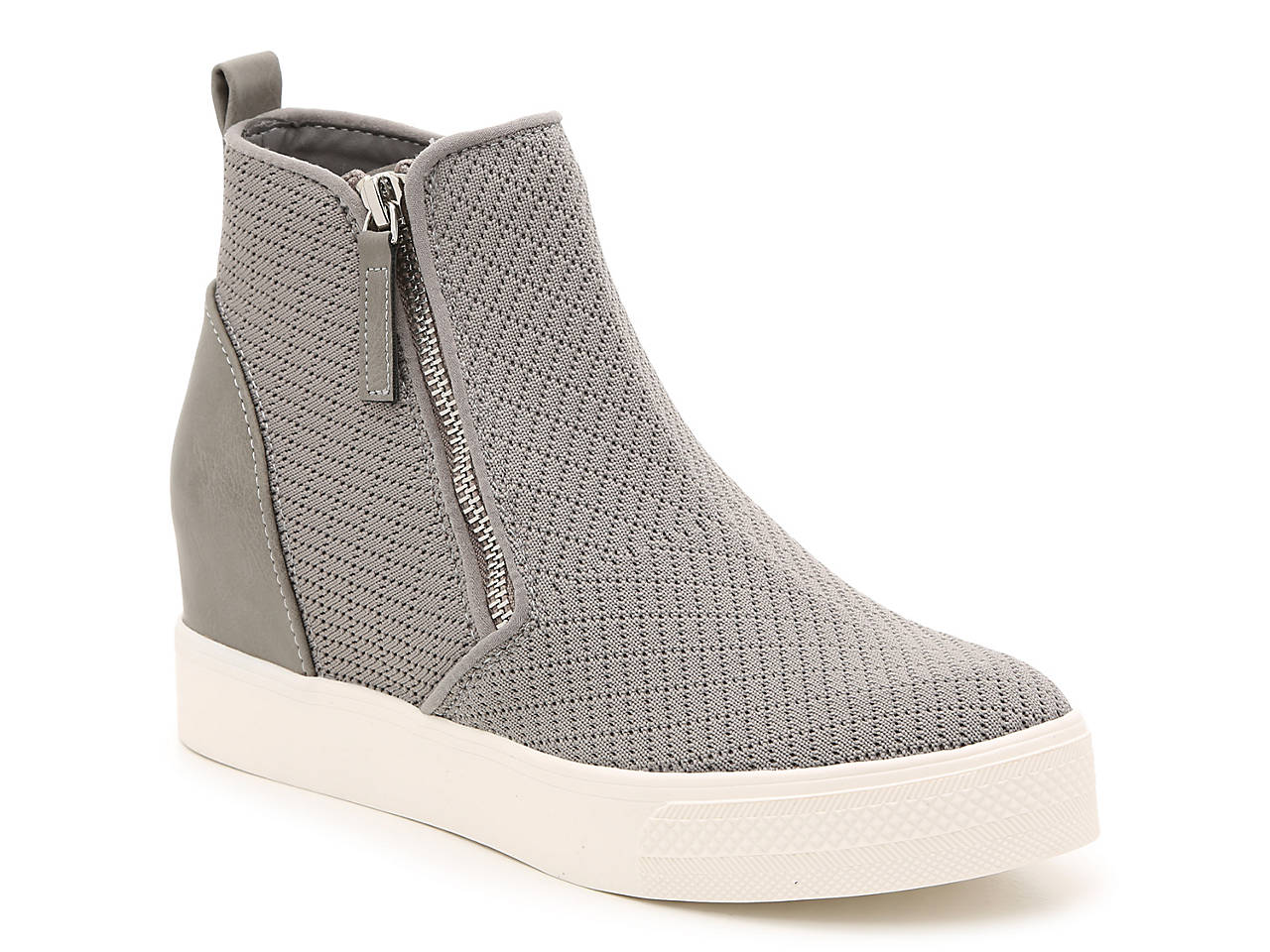 04ae50e35dc7 Steve Madden Loxley Wedge High-Top Sneaker Women's Shoes | DSW