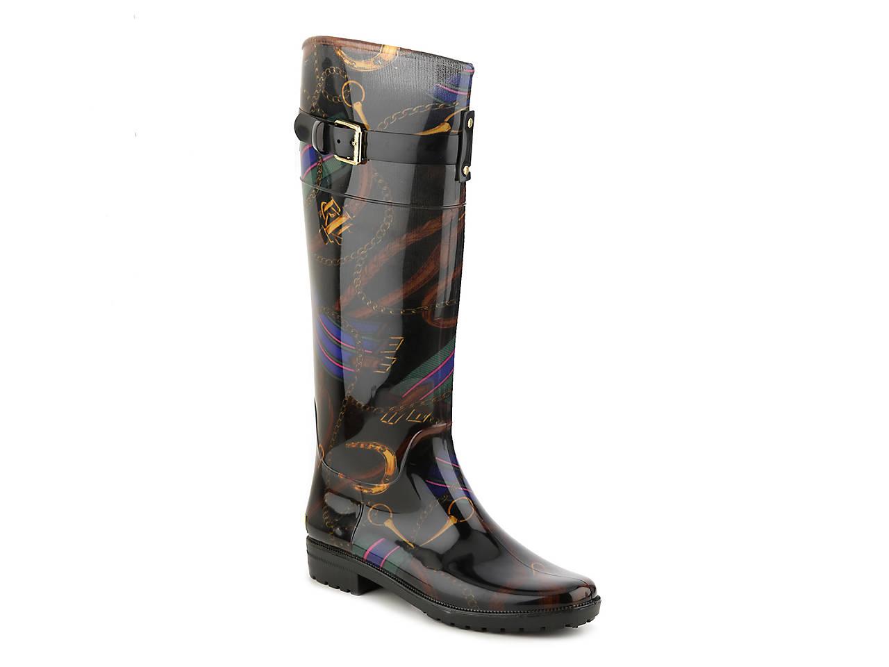fdde22445f3e Lauren Ralph Lauren Rossalyn II Rain Boot Women s Shoes