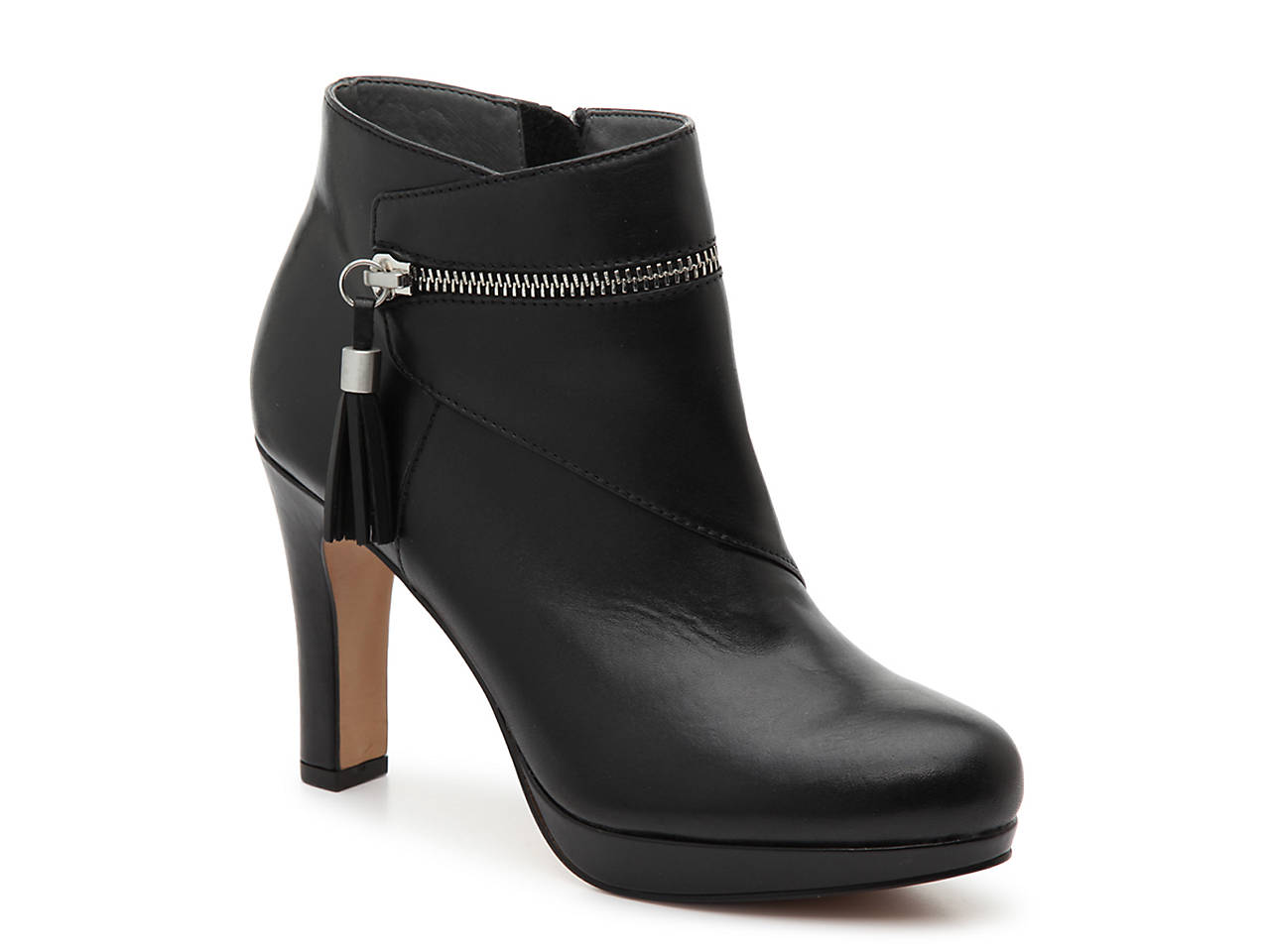 d675a7cd174 Adrienne Vittadini Plake Platform Bootie Women s Shoes