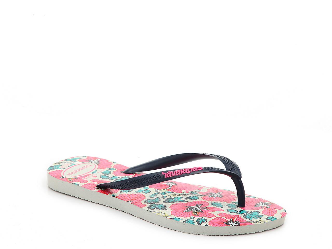 Havaianas Slim Floral Flip Flop Women s Shoes  611f8e268b