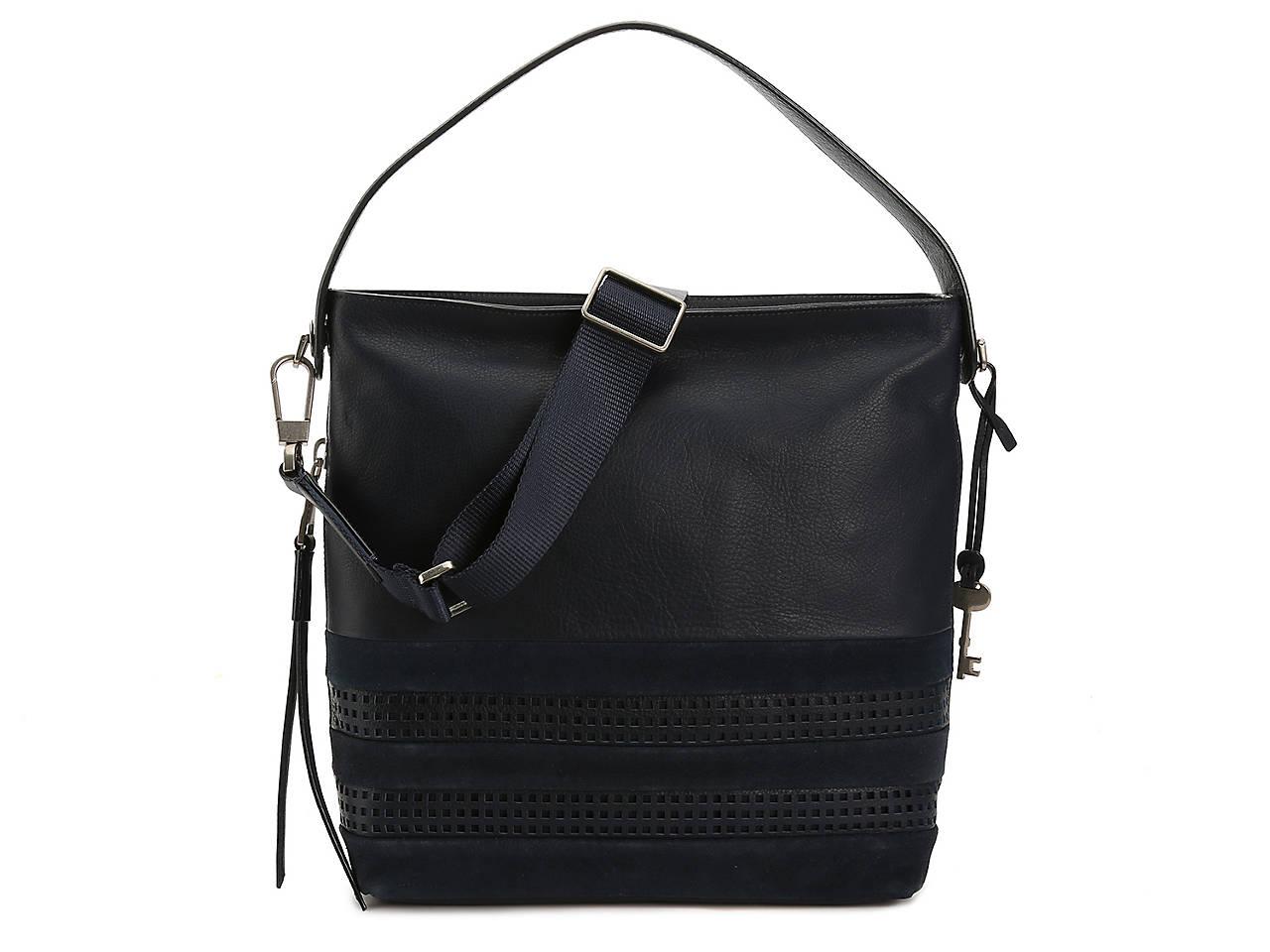 Maya Leather Hobo Bag
