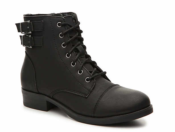 be5611d0036 Madden Girl. Flint Combat Boot
