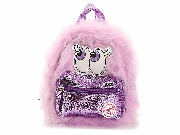 Skechers Twinkle Toes Furry Mini Backpack Kids Handbags   Accessories  702a1363482d5