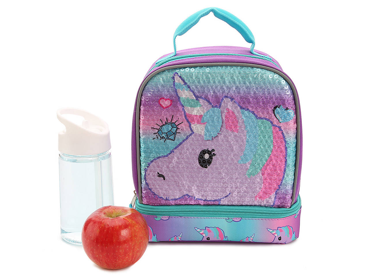 Emoji Unicorn Lunch Box