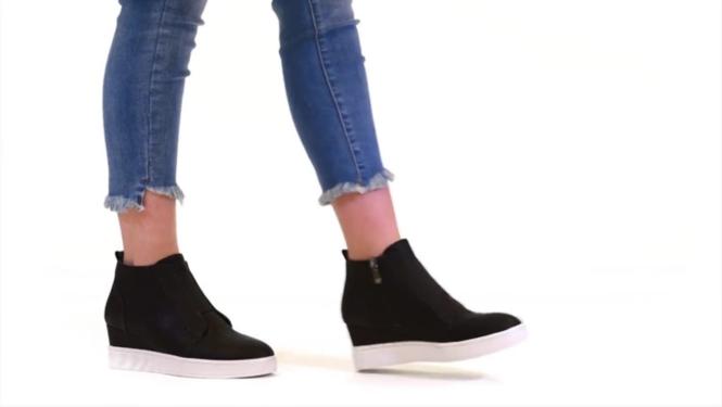 6241d34eb2 Journee Collection Clara Wedge Sneaker Women's Shoes | DSW