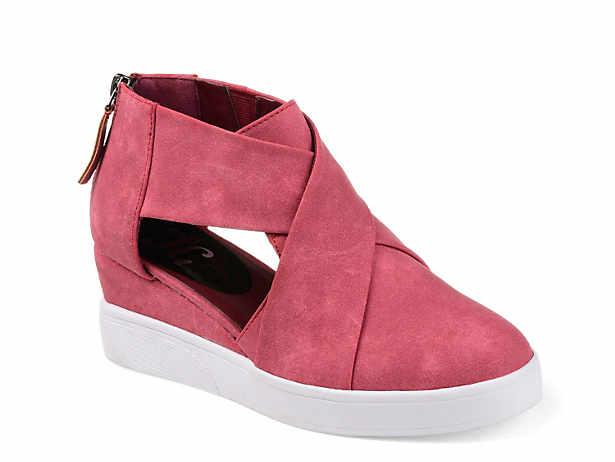 e135b4d7d24 Journee Collection. Seena Wedge Sneaker