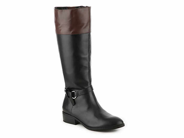 61876d54113 Lauren Ralph Lauren. Makaila Wide Calf Riding Boot