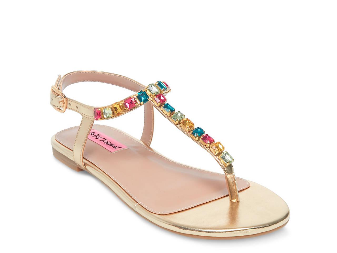 28302ef99bd6c4 Betsey Johnson Rome Sandal Women s Shoes