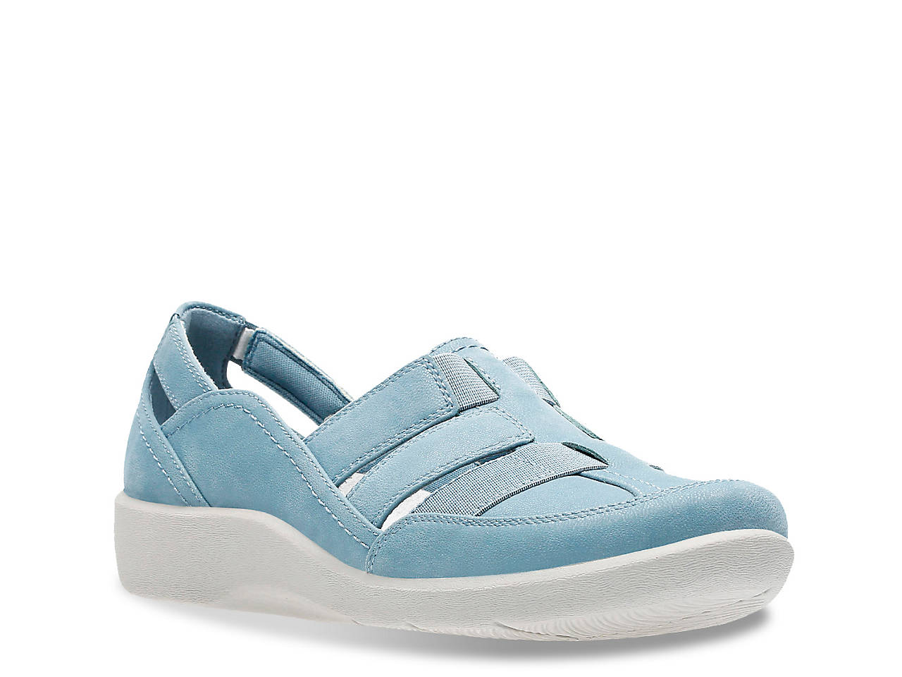 f91159360 Cloudsteppers by Clarks Sillian Wedge Slip-On Women s Shoes