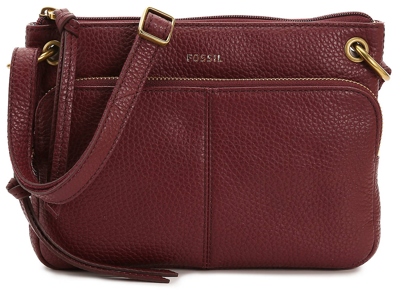 8217420be13a Fossil Karli Leather Crossbody Bag Women's Handbags & Accessories | DSW
