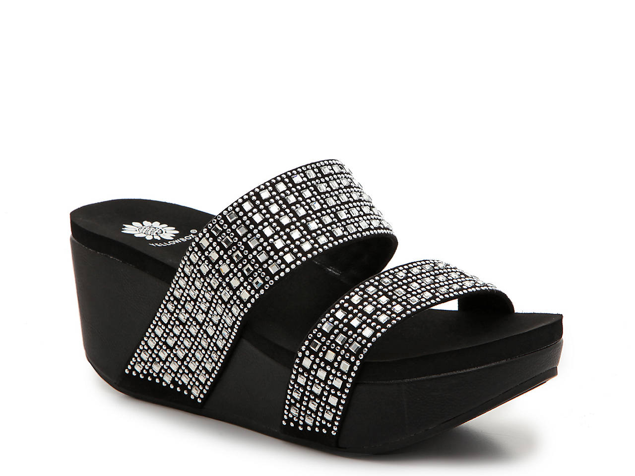 94cddb822a Yellow Box Valara Wedge Sandal Women s Shoes