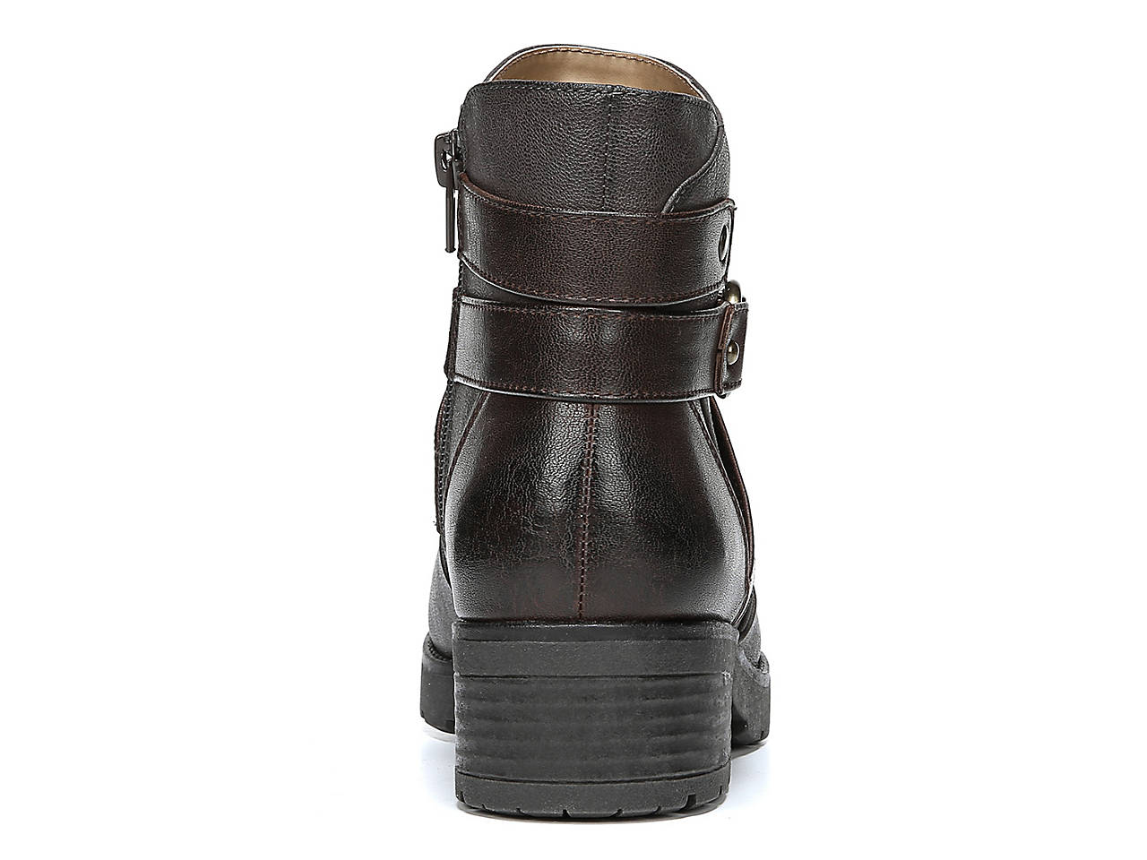 e39aa409a936 Natural Soul Quincy Motorcycle Bootie Women s Shoes