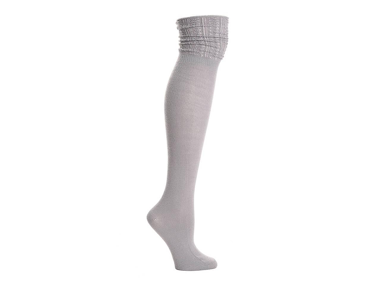 c6320b511 HUE Hosiery Openwork Top Women s Over The Knee Socks Women s ...