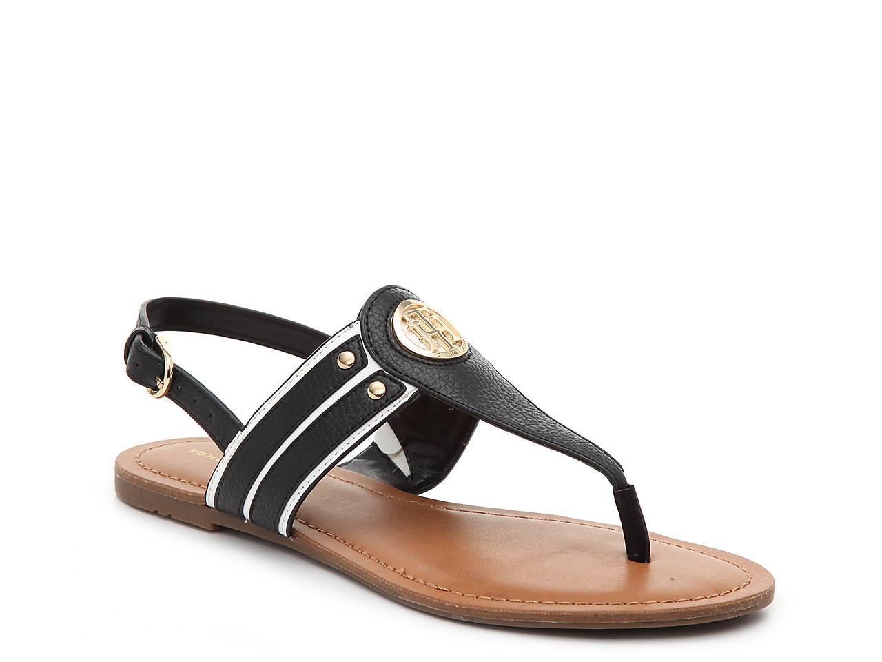 e57acee64 Tommy Hilfiger Lavas Sandal Women s Shoes