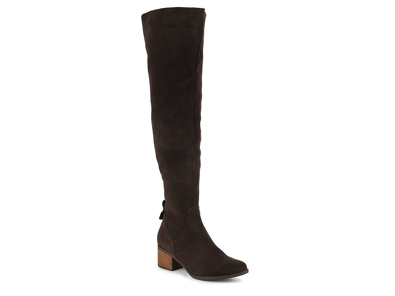 0d9b8fa4d7f Steve Madden Purly Over The Knee Boot Women s Shoes