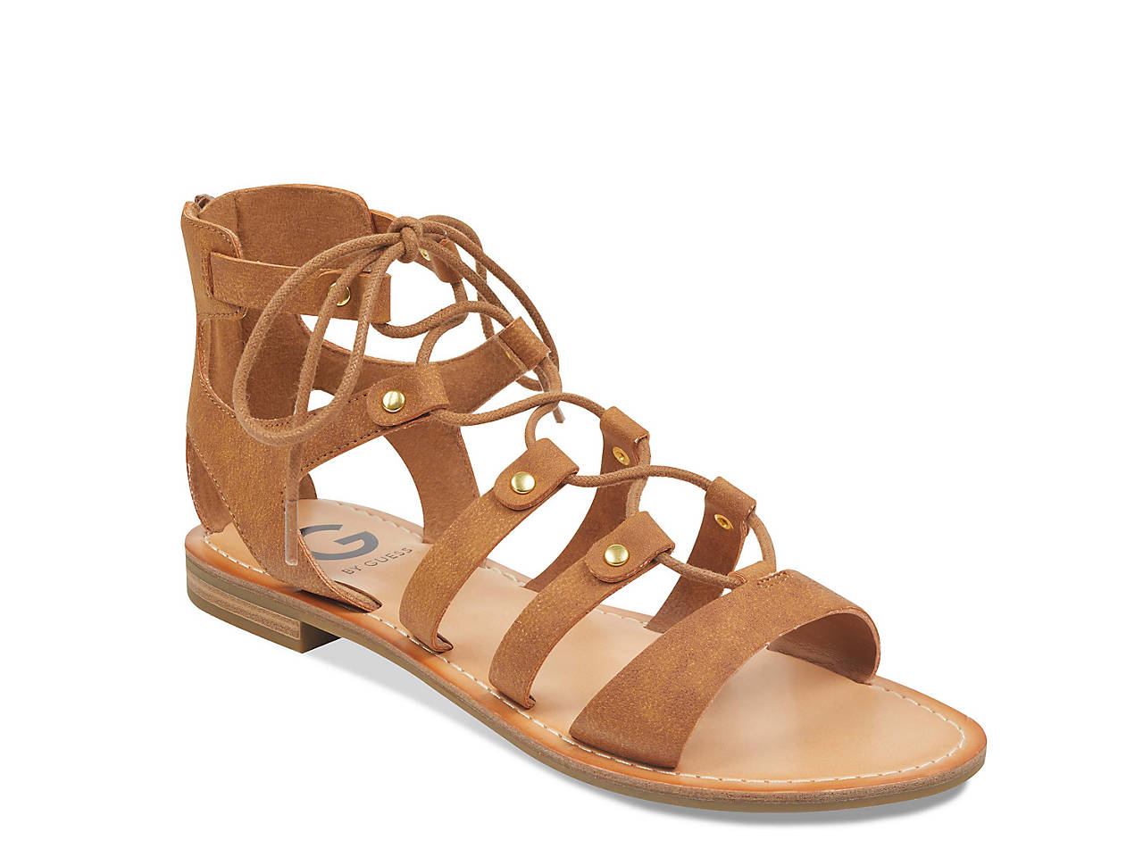 7d4f854595a4 G by GUESS Hotsy Gladiator Sandal Women s Shoes
