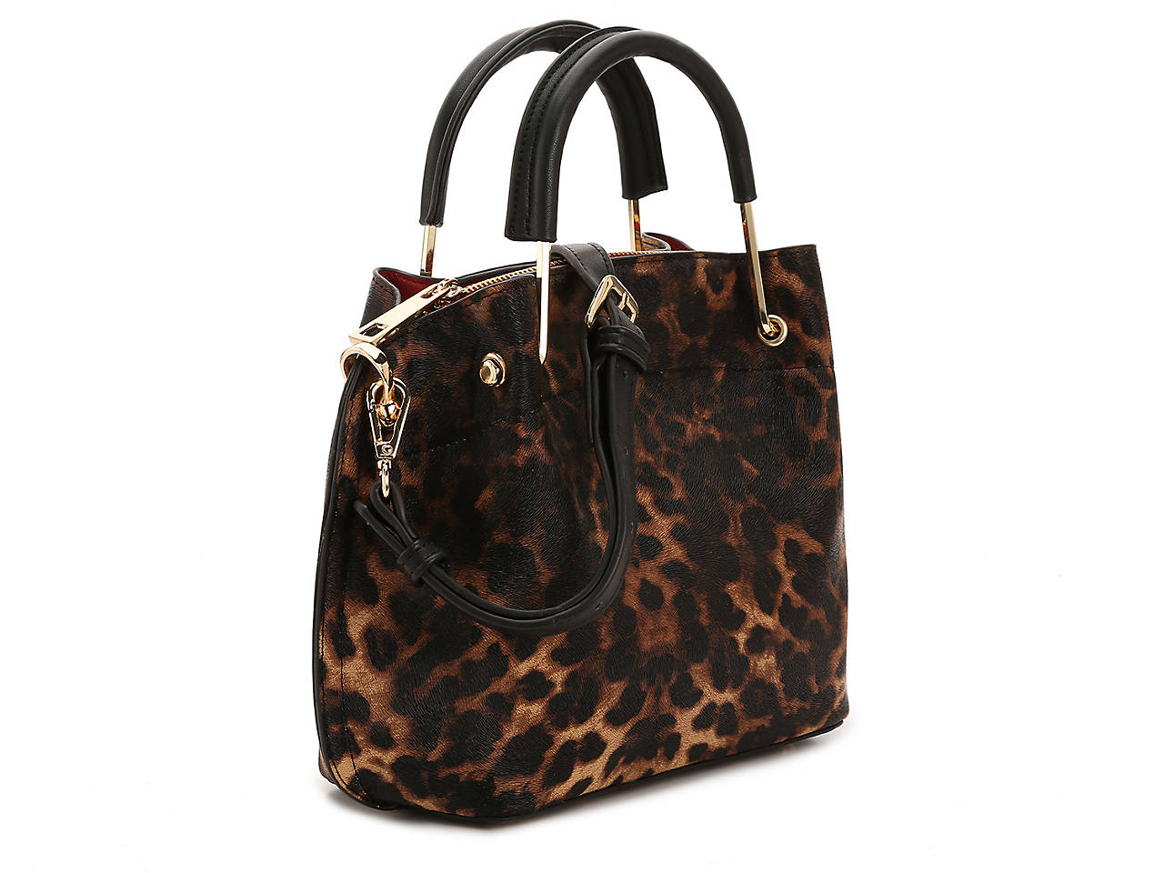 652511dd92e4 Sondra Roberts Printed Faux Leather Satchel Women s Handbags ...