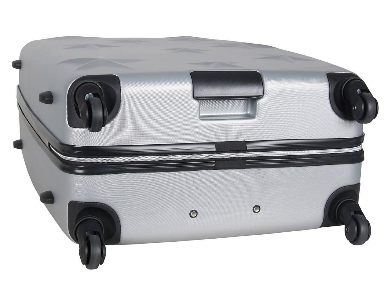 d53fbfb3c Aimee Kestenberg - Luggage Star Molded 28-Inch Checked Hard Shell ...