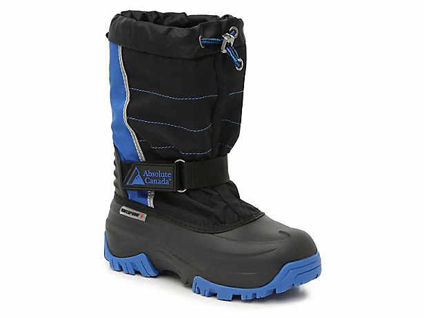 4c4806c424ec2 Absolute Canada. Snowblocker Toddler   Youth Snow Boot. Clearance Item -  Original Price  64.99  64.99