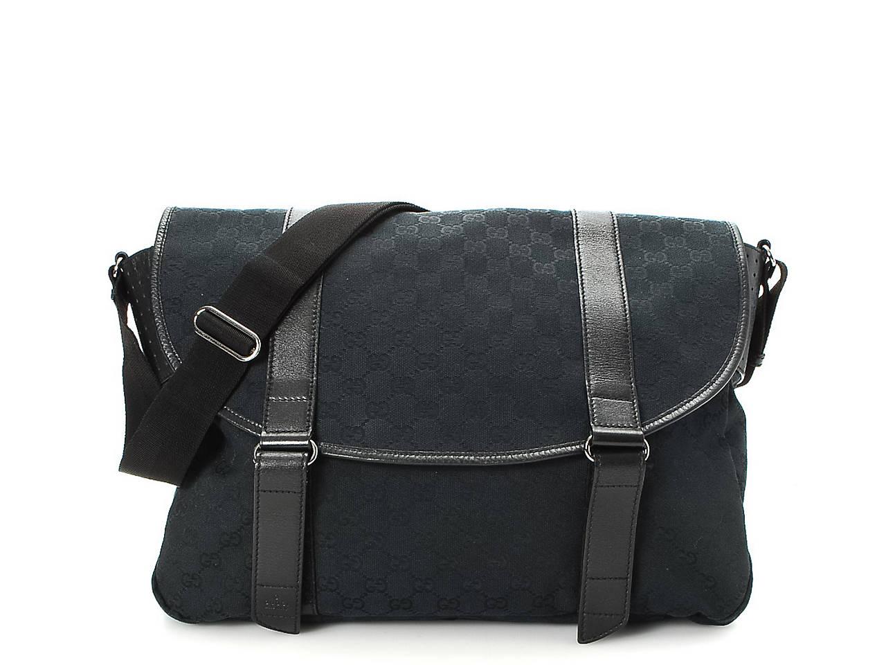ff0c567a16b Gucci - Vintage Luxury Canvas GG Messenger Bag Women s Handbags ...