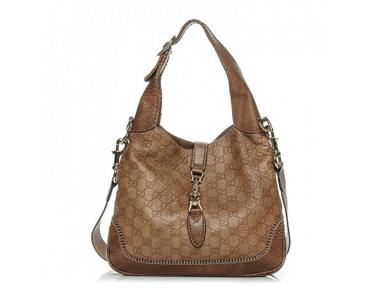 39107bef63e Gucci - Vintage Luxury Guccissima New Jackie Leather Shoulder Bag ...