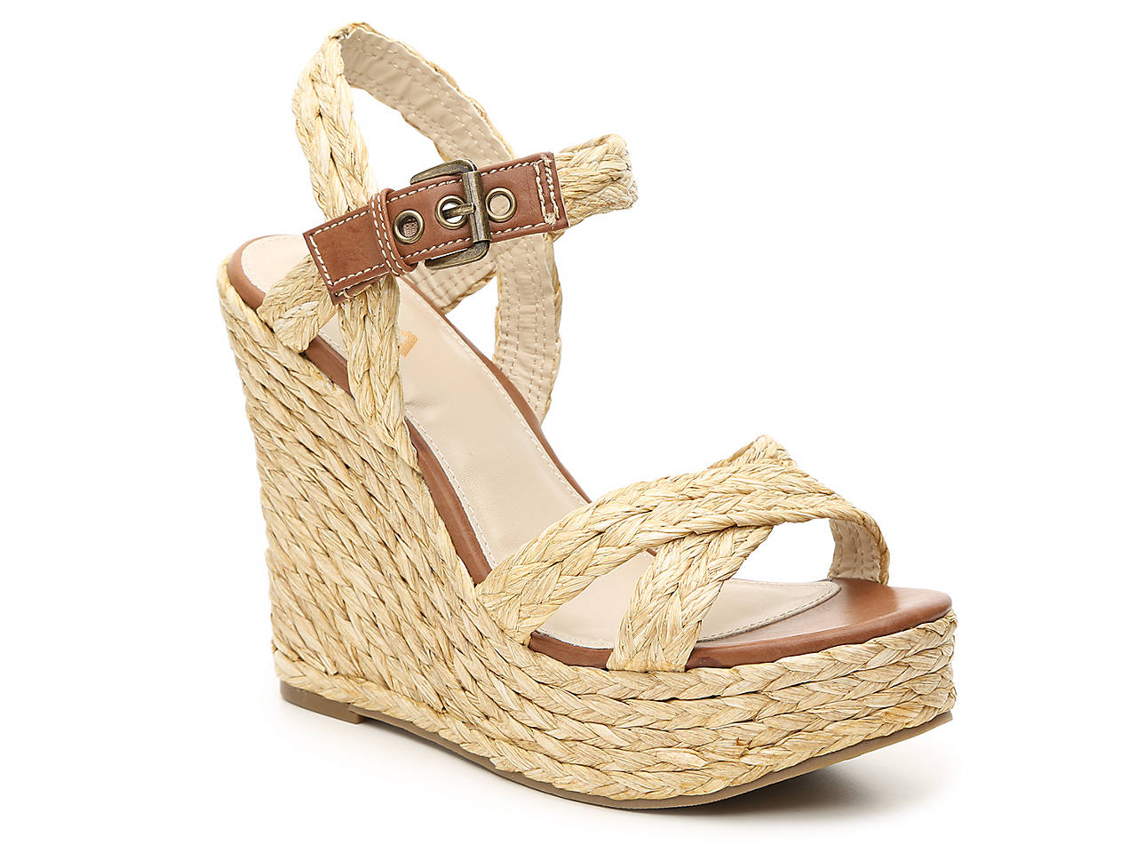 aaa807e1ee9 Mia Leila Espadrille Wedge Sandal Women s Shoes