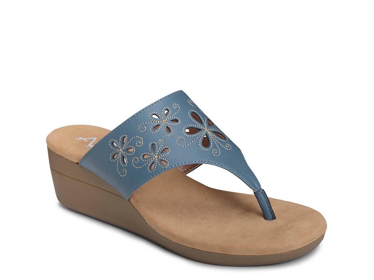 5f9b30a8e940 A2 by Aerosoles Air Flow Wedge Sandal Women s Shoes
