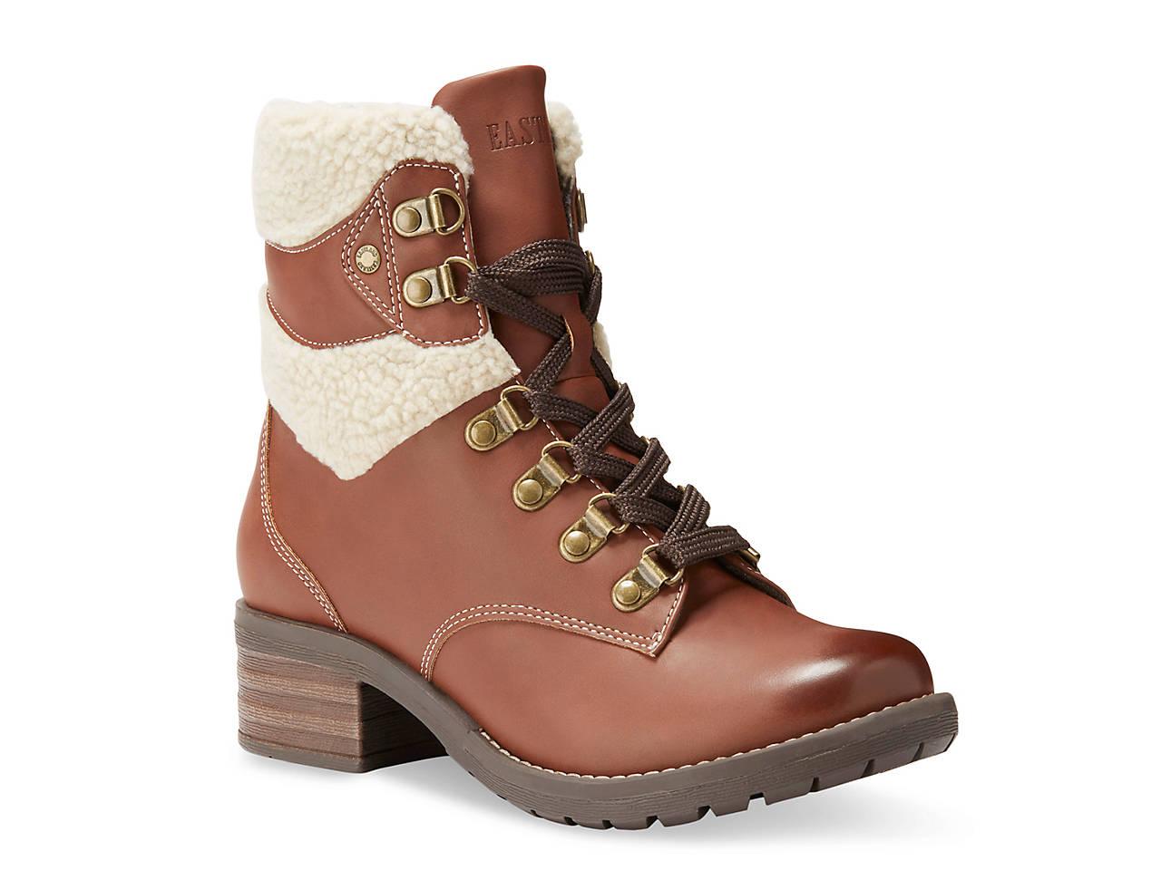 05c6608d532c47 Eastland Frankie Combat Boot Women's Shoes | DSW