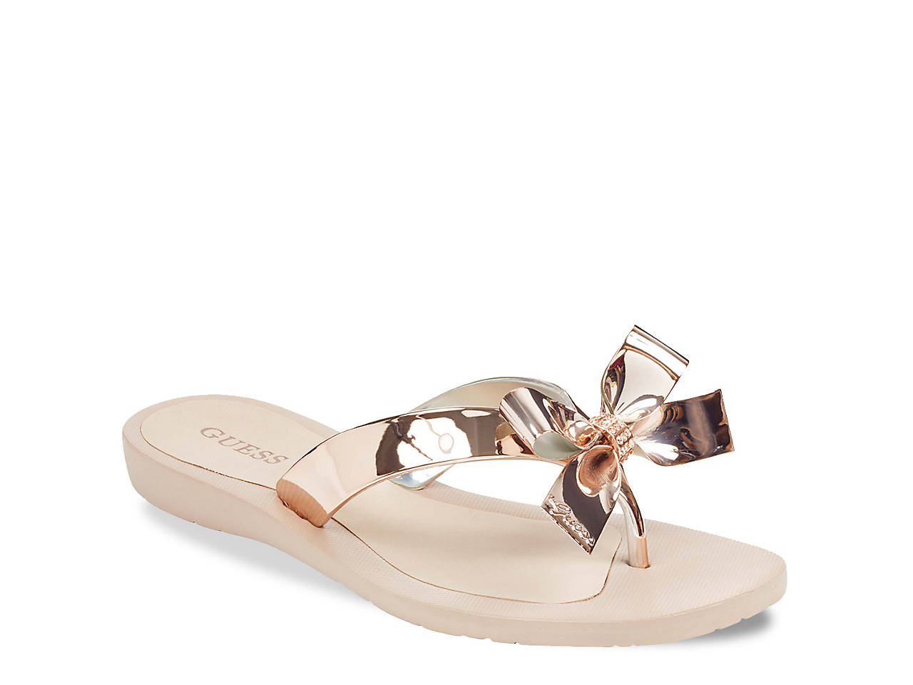 eadeef9f941b48 Guess Tutu 9 Flip Flop Women s Shoes
